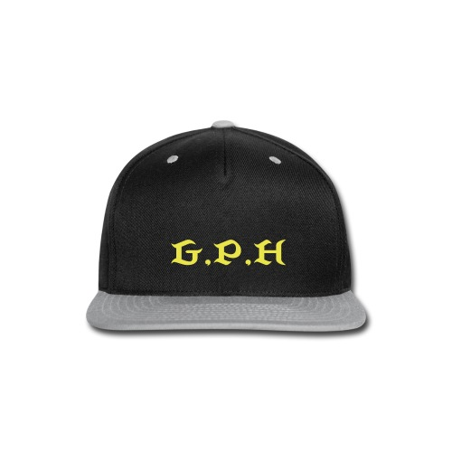 G.P.H.Ware clothing  - Snap-back Baseball Cap