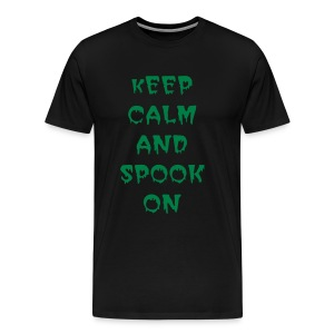 keep calm and spook on - Men's Premium T-Shirt