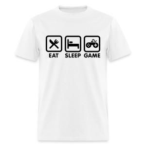 Eat Sleep Game - Men's T-Shirt