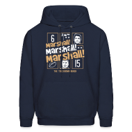 Hoodies ~ Men's Hoodie ~ Marshall, Marshall, Marshall! (The TD Bunch)