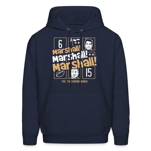 Marshall, Marshall, Marshall! (The TD Bunch) - Men's Hoodie