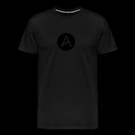 T-Shirts ~ Men's Premium T-Shirt ~ Black on Black