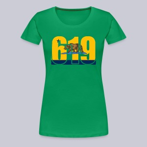 619 Bolts Bear - Women's Premium T-Shirt