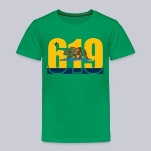 619 Bolts Bear - Toddler Premium T-Shirt