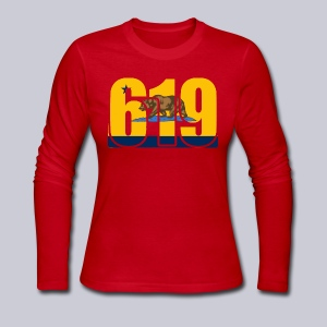 619 Bolts Bear - Women's Long Sleeve Jersey T-Shirt