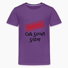 Official Cub Scout Sister Shirt