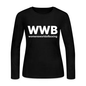 Women's Long Sleeve Jersey T-Shirt - Boxing T-Shirts,Boxing Tee Shirts,Custom Made T-Shirts,Custom Made Tee Shirts,Gifts,MMA T-Shirts,MMA Tee Shirts,Novelty T-Shirts,Personalized T-Shirts,Personalized Tee Shirts,Women's T-Shirts,Women's Tee Shirts