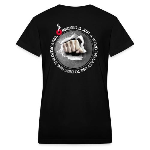 obsessed - Women's V-Neck T-Shirt