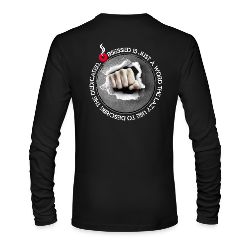 obsessed - Men's Long Sleeve T-Shirt by Next Level