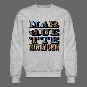 Marquette MI Stacked - Crewneck Sweatshirt