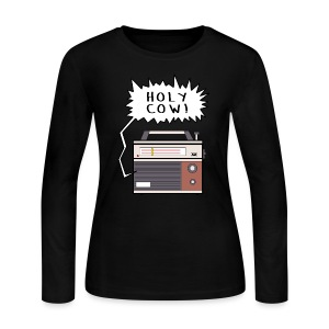 Holy Cow Radio - Women's Long Sleeve Jersey T-Shirt