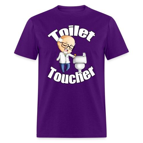 The Toilet Toucher - Men's T-Shirt