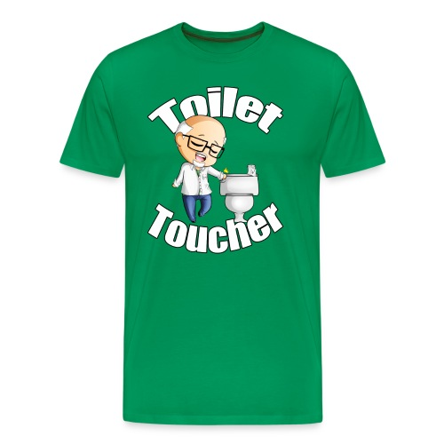 The Toilet Toucher - Men's Premium T-Shirt