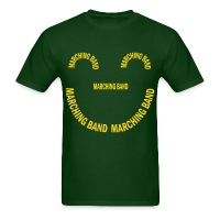 Marching Band Smile - Men's T-Shirt