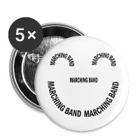 Marching Band Smile - Large Buttons