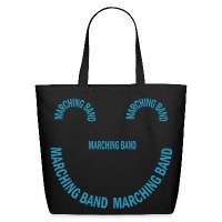 Marching Band Smile - Eco-Friendly Cotton Tote