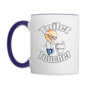 The Toilet Toucher - Contrast Coffee Mug