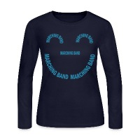 Marching Band Smile - Women's Long Sleeve Jersey T-Shirt