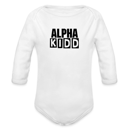 ALPHA KIDD - BETARASE - BABY ONE PIECE (SLEEVE) - Organic Long Sleeve Baby Bodysuit