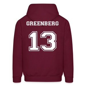 Greenberg 13 Front and Back - Men's Hoodie