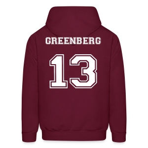 Greenberg 13 Back - Men's Hoodie