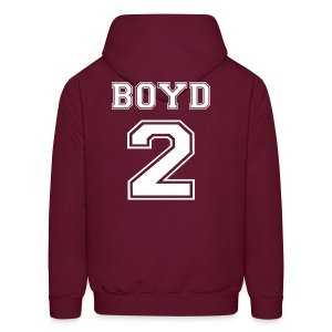 Boyd 2 Front and Back - Men's Hoodie