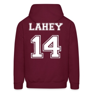 Lahey 14 Front and Back - Men's Hoodie