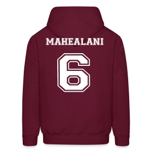 Mahealani 6  Front and Back - Men's Hoodie