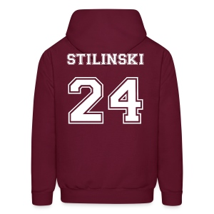 Stilinski 24 Front and Back - Men's Hoodie