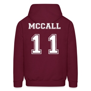 McCall 11 Front and Back - Men's Hoodie