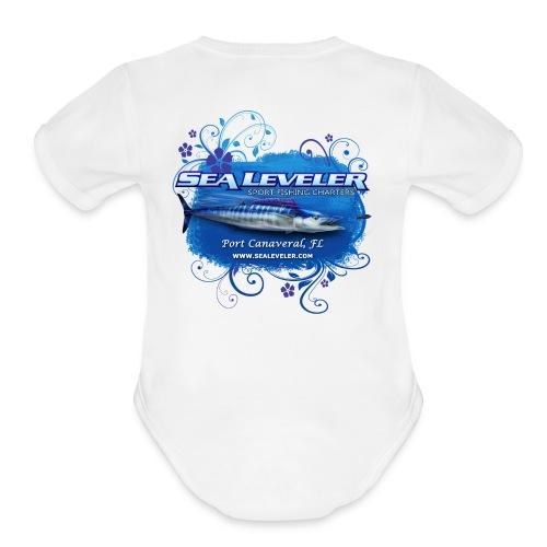 Girl Baby Onsie - Organic Short Sleeve Baby Bodysuit