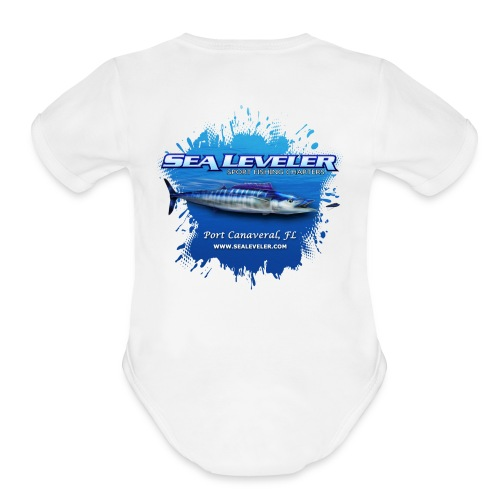 Boy Baby Onsie - Organic Short Sleeve Baby Bodysuit