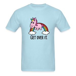 Get Over It Unicorn Tee - Men's T-Shirt