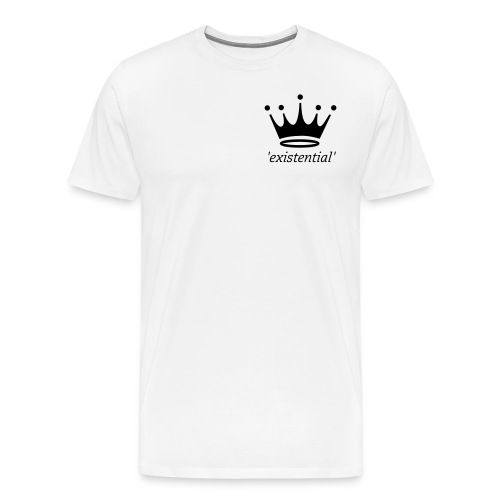 Mens Crown T-Shirt - Men's Premium T-Shirt
