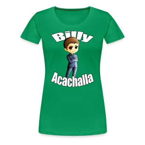 Billy Acachalla - Women's Premium T-Shirt