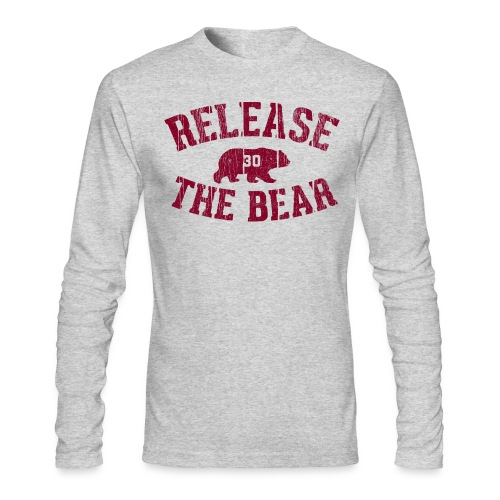 Release The Bear long sleeve tee - Men's Long Sleeve T-Shirt by Next Level