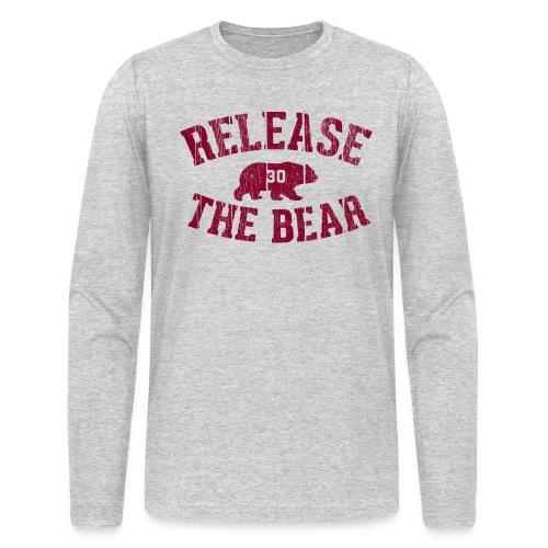 Release The Bear long sleeve tee - Men's Long Sleeve T-Shirt by Next Level