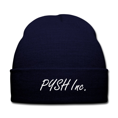 PYSH Inc beanie - Knit Cap with Cuff Print