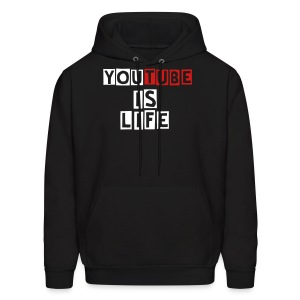 YouTube is Life Mens Tee - Men's Hoodie