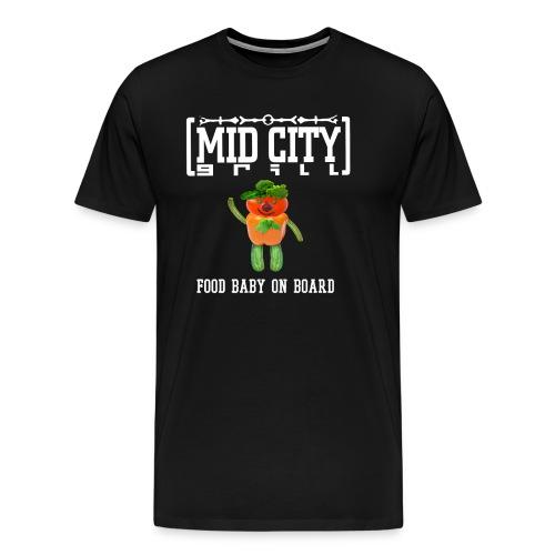 Food Baby T - Men's Premium T-Shirt