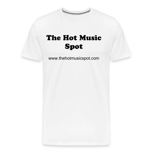 The Hot Music Spot - Men's Premium T-Shirt