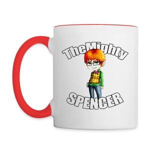 The Mighty Spencer Color Mug - Contrast Coffee Mug