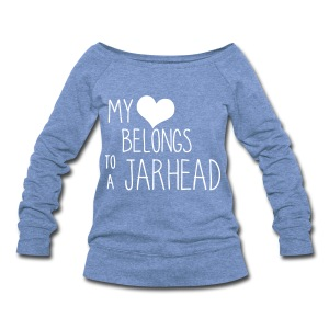 JarHead Fall off the shoulder - Women's Wideneck Sweatshirt