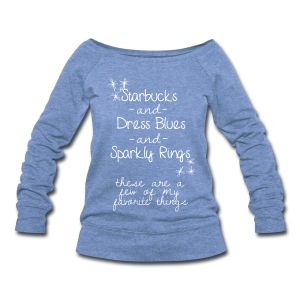 Favorite Things - Women's Wideneck Sweatshirt