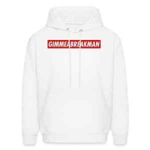 Gimmeabreakman - red label (Men's Hooded Sweatshirt) - Men's Hoodie