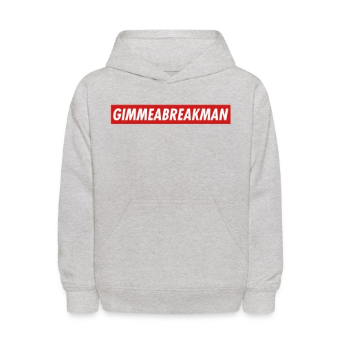 Gimmeabreakman - red label (Kids' Hooded Sweatshirt) - Kids' Hoodie