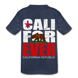 CALI FOR EVER Unisex Youth Tee - Kids' Premium T-Shirt
