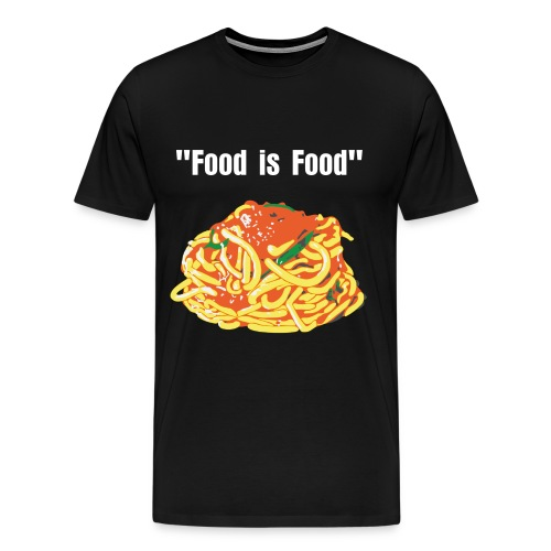 Words From Shaides Food is Food 2 - Men's Premium T-Shirt