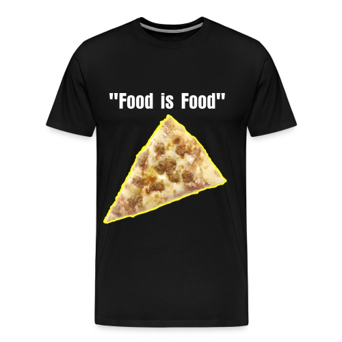 Words From Shaides Food is Food 4 - Men's Premium T-Shirt