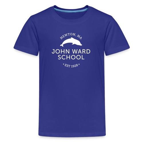 WHITE LOGO - Kid's Premium T-Shirt - Multiple color choices available - Kids' Premium T-Shirt